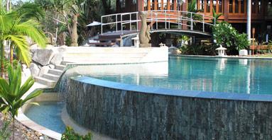 Sunshine coast swimming pools for Pool design sunshine coast